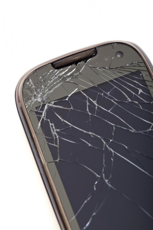 Een kapot scherm: een van de meest voorkomende reparaties voor telefoons